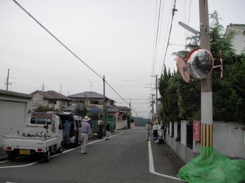 みさき公園住宅地の草刈り事業第2日_c0108460_16191992.jpg