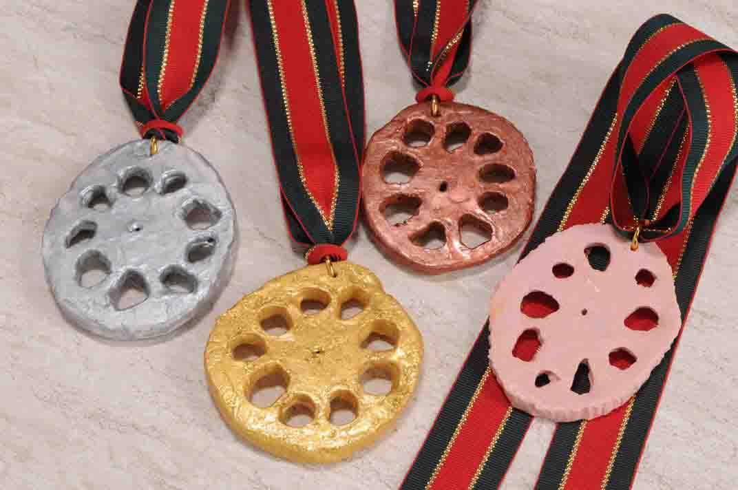 カウントダウン:れんこんメダル_c0052876_1745364.jpg