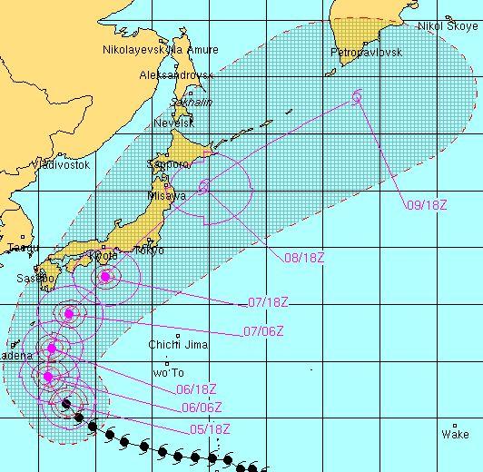 これは昭和の三大台風 (室戸台風・枕崎台風・伊勢湾台風)に匹敵する猛烈な...  すみよしまる