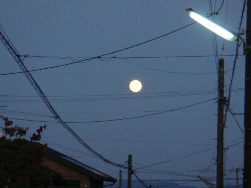仲秋の名月のあくる日のお月さん。_f0201289_91402.jpg