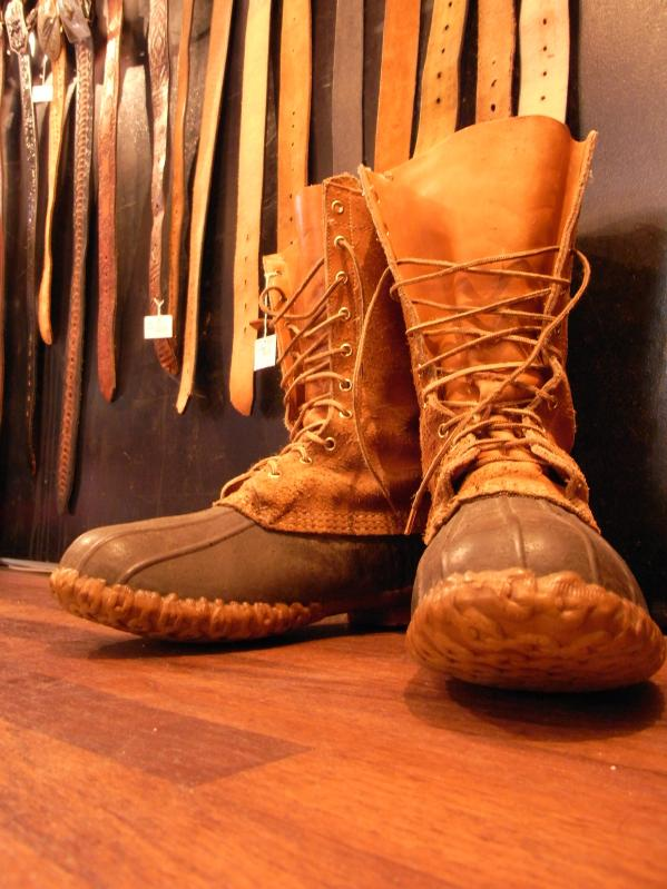 RECOMMEND--80\'s L.L BEAN BOOTS SIZE 10 MADE IN USA_c0176867_15142973.jpg