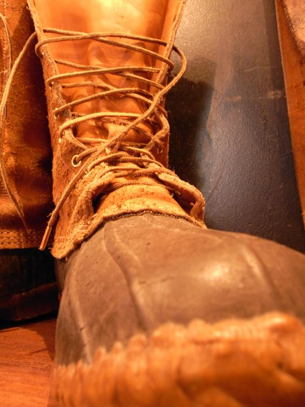 RECOMMEND--80\'s L.L BEAN BOOTS SIZE 10 MADE IN USA_c0176867_15144332.jpg