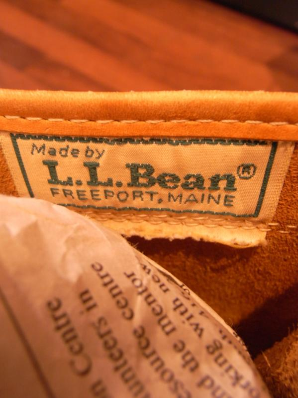 RECOMMEND--80\'s L.L BEAN BOOTS SIZE 10 MADE IN USA_c0176867_15152519.jpg