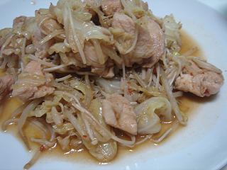 鶏むね肉の豆板醤炒め_c0025217_2350120.jpg
