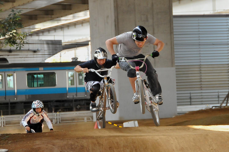 2009JOSF川口ゴリラ公園10月定期戦VOL9:コース練習の風景_b0065730_451588.jpg
