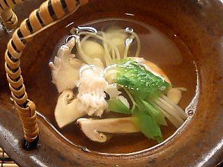 松茸の土瓶蒸し 食事作法とは・・_e0159969_18222288.jpg