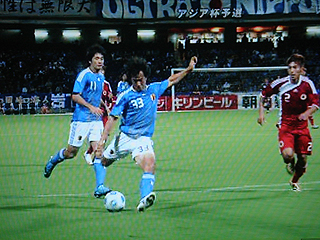 日本×香港 AFCアジアカップ2011カタール最終予選_c0025217_0253728.jpg