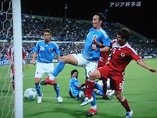 日本×香港 AFCアジアカップ2011カタール最終予選_c0025217_026517.jpg