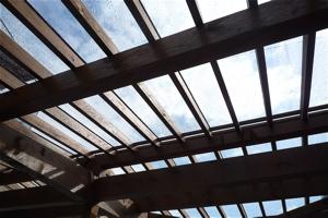 現場レポート I-House 屋根がついた!!!?_f0165030_6555285.jpg