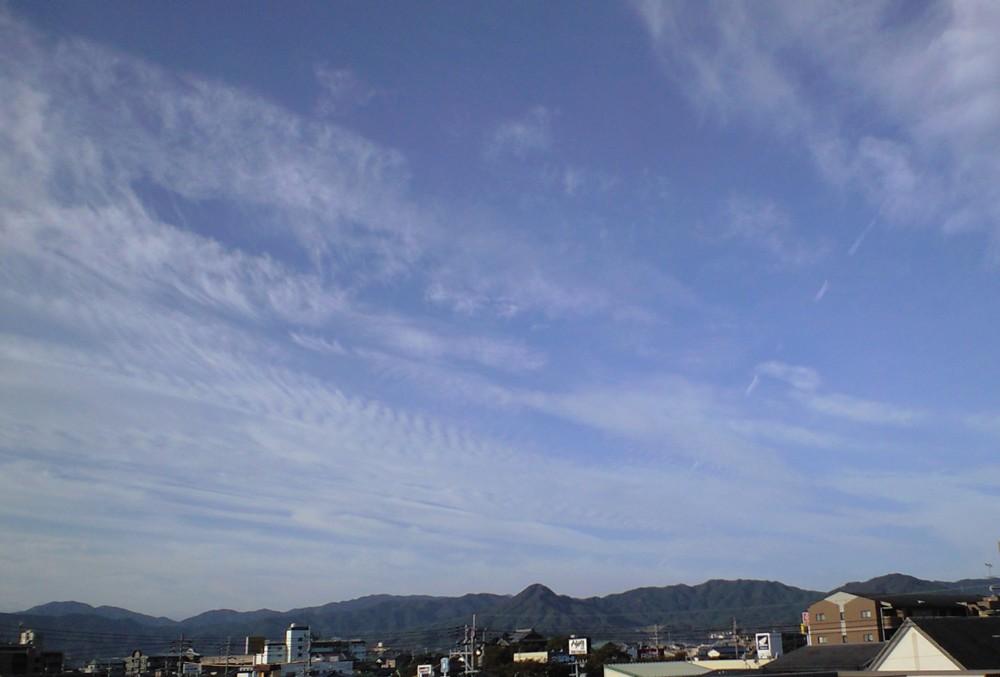 秋の気配!バルコニーからの眺望_d0082356_917354.jpg