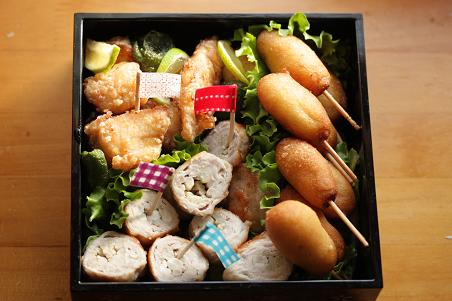 運動会のお弁当 2009 幼稚園_b0165178_7544086.jpg