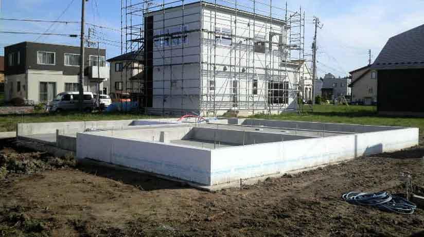 「桜台の家」 基礎工事_f0150893_18512759.jpg