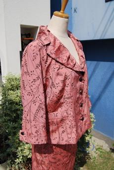 着物リフォーム・ジャケット&スカート・スーツ_d0127925_0374767.jpg