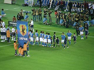 日本×スコットランド キリンチャレンジカップ2009_c0025217_1513496.jpg