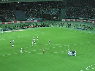 日本×スコットランド キリンチャレンジカップ2009_c0025217_15142637.jpg