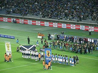 日本×スコットランド キリンチャレンジカップ2009_c0025217_1514328.jpg