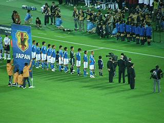 日本×スコットランド キリンチャレンジカップ2009_c0025217_1514984.jpg