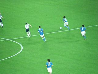 日本×スコットランド キリンチャレンジカップ2009_c0025217_15163423.jpg