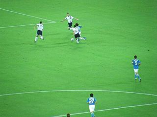 日本×スコットランド キリンチャレンジカップ2009_c0025217_1516422.jpg