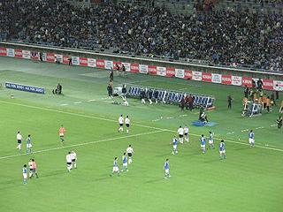 日本×スコットランド キリンチャレンジカップ2009_c0025217_1518177.jpg