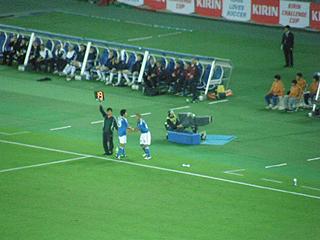 日本×スコットランド キリンチャレンジカップ2009_c0025217_15193164.jpg