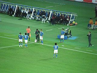 日本×スコットランド キリンチャレンジカップ2009_c0025217_15204424.jpg