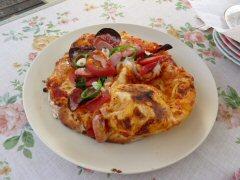 石釜で焼くピザ作り_f0019247_2237777.jpg