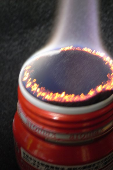 Carbon-Felt wick Alcohol Stove / カーボンフェルト芯アルコールストーブ_e0024555_22381077.jpg