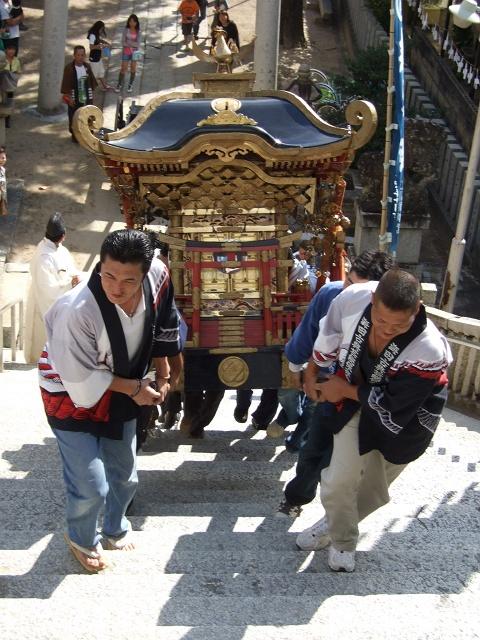 熊野神社秋季例大祭 例大祭_b0095061_11555175.jpg