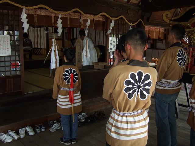 熊野神社秋季例大祭 例大祭_b0095061_1157106.jpg