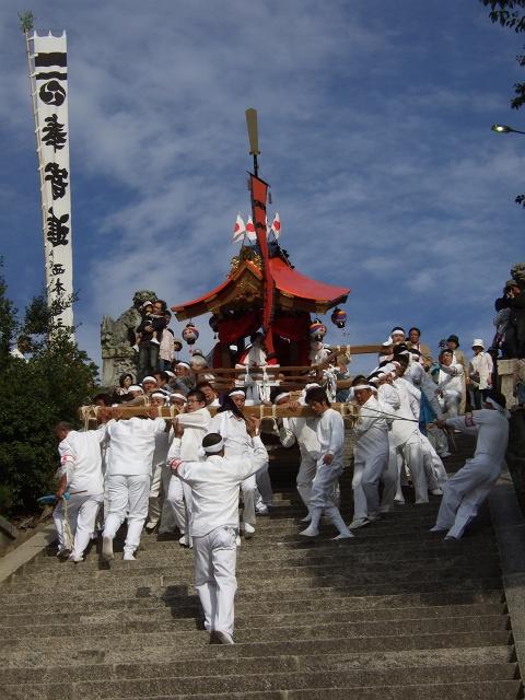 坂八幡宮 秋祭 本祭り その3 頂戴奉納の続き_b0095061_12213164.jpg