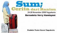 インドネシアの演劇: Monolog 'Sum, Cerita Dari Rantau'_a0054926_20273932.jpg