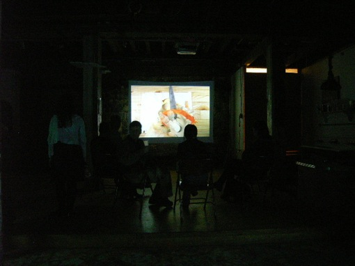 OPENING☆Japanese Emerging Artists\' Video Art Exhibition_c0096440_5492319.jpg