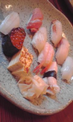 お寿司大好きだー!_e0163255_19542530.jpg