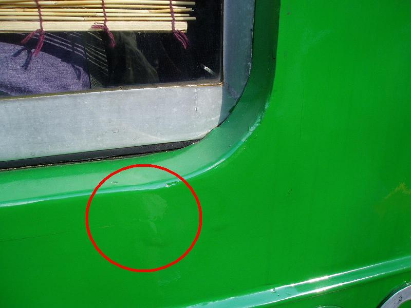 今日の東急デハ5001号の状況(53) ガラスが割られる_f0030574_20283261.jpg