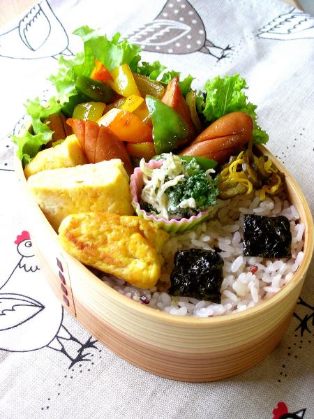 カレー野菜のお弁当^^_b0171098_7531330.jpg