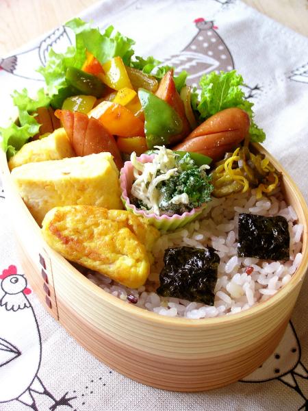 カレー野菜のお弁当^^_b0171098_7595956.jpg