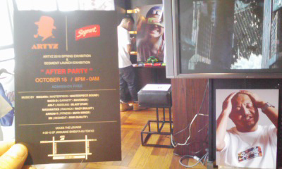 SEGMENT Launch Exhibition 初日_d0107546_1304586.jpg