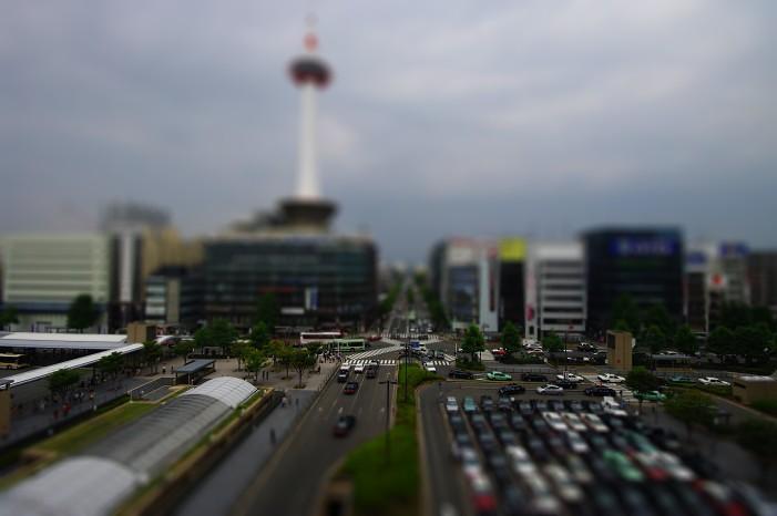 ミニチュア京都駅..._f0152550_21165714.jpg