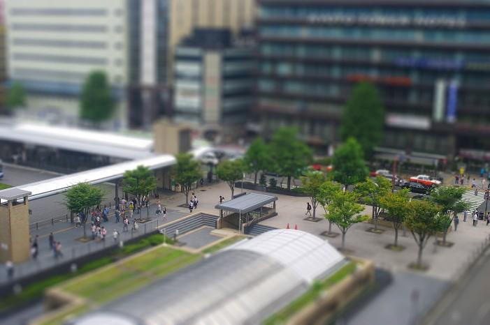 ミニチュア京都駅..._f0152550_2116637.jpg