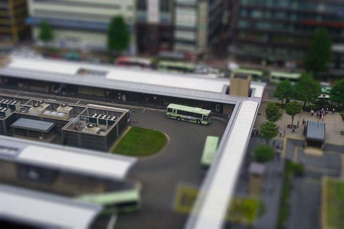 ミニチュア京都駅..._f0152550_21174228.jpg