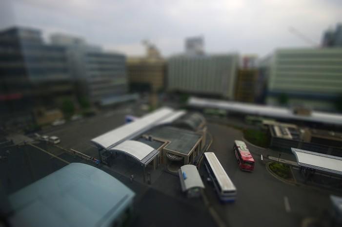 ミニチュア京都駅..._f0152550_2117572.jpg