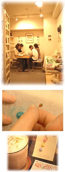 """COCOROさんの""""マカロン ストラップを作る""""ワークショップ☆_e0161063_191777.jpg"""