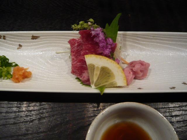 すみれの米沢牛懐石 2009 (ステーキ)_c0100865_6563539.jpg