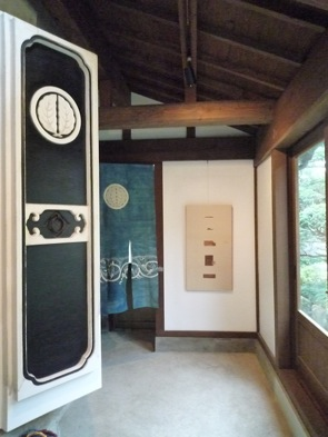 加藤則子展『\'86-\'09の柿渋紙』準備進む。。_e0030180_1071914.jpg