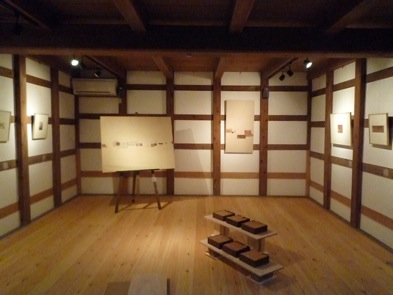 加藤則子展『\'86-\'09の柿渋紙』準備進む。。_e0030180_108492.jpg