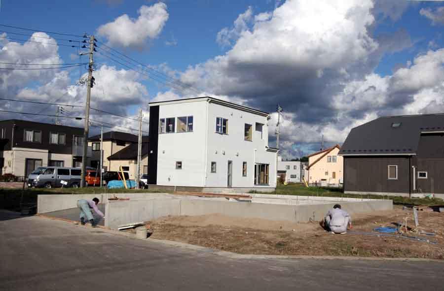 「桜台の家」 基礎工事終了!_f0150893_2226419.jpg
