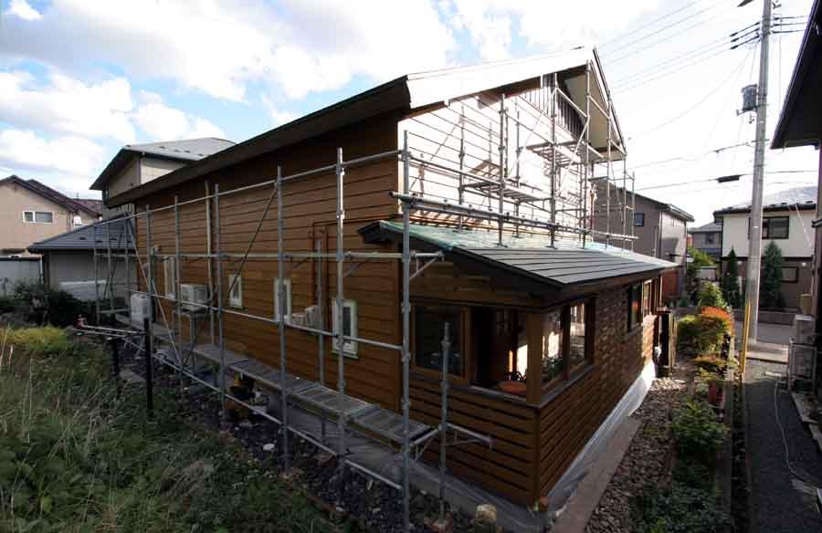 「桜台3丁目の家」 外壁のメンテナンスと再塗装_f0150893_22432120.jpg