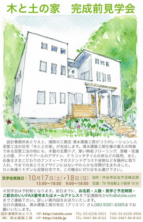「木と土の家(泥壁の家)」完成(前)見学会のお知らせ_a0117794_18525920.jpg
