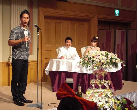 10月10日 名古屋にて 結婚パーティー_c0151965_2219243.jpg